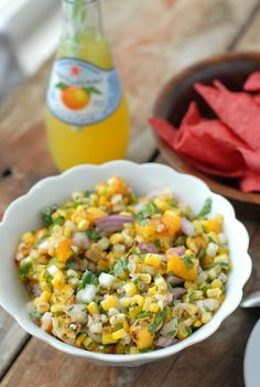 Grilled Peach and Corn Salsa | Boulder Locavore