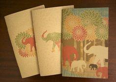 handmade journal set of 3