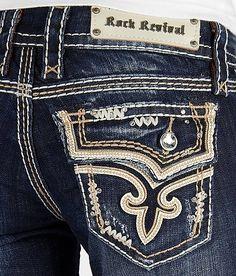 Rock Revival Kai Skinny Stretch Jean #buckle #fashion #jeans www.buckle.com
