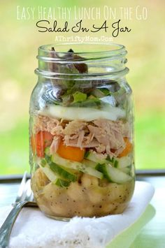 Salad In A Jar Recip