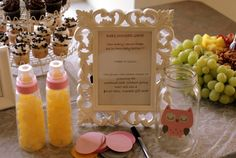 Easy baby shower game