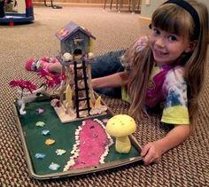 Powell Gardens: Fairy Houses & Forts - 100 Days of Summer in Kansas City - Summer 2012 - Kansas City, MO