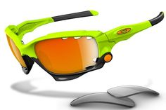 Easter Holiday 2013 USA Oakley Sport Jawbone Sunglasses Orange Green