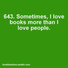 People and books