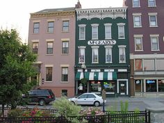 For a period of time, Herman Melville lived in the pink house just off North Pearl Street next to McGeary's