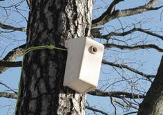 Swedish-based mapog aim to give birds what they really need – a simple home without all the fancy adornments or special materials. Bird_House is constructed of basic wood and designed in a traditional form, made to attach to any tree.