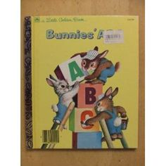 Bunnies' ABC (Little Golden Books) [Hardcover]