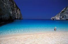 Zakynthos island, Navagio beach,Greece