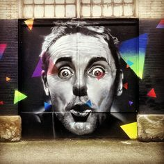 Final of Michael D. by Weirdo.  2nd and Main, Seattle.  #Weirdo #Spraypaint