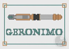 Geronimo - Doctor Who Sonic Screwdriver