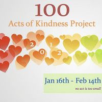 100 Acts of Kindness Project 2012 from Toddler Approved