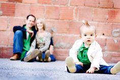 Family Photo Idea  love the focus