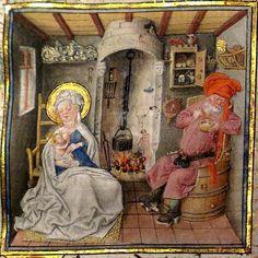 Hours of Katherina van Kleef (Catherine of Cleves, c. 1440).