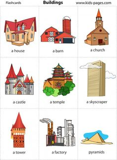 Places, free flashcards!