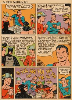Super Antics #3 with Superman