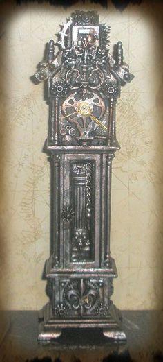 Miniature Steampunk Clock