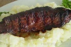 Grilled venison tenderloins (backstrap)