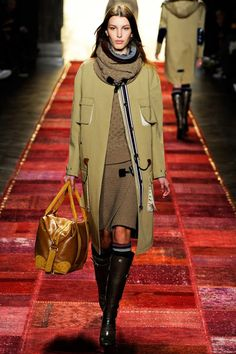 Tommy Hilfiger Fall 2011. Love the skirt and sweater