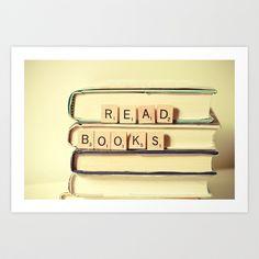 Read Books Art Print by Joy StClaire