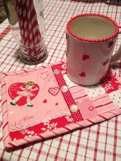 Valentine mug rug ~ My Sew Sweet Studio