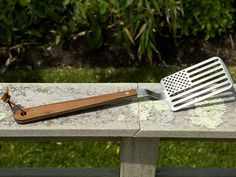 Star Spangled Spatula by J. Riley-Wasserman  for areaware: This is what I want to flip burgers with! #Spatula #Patriotic