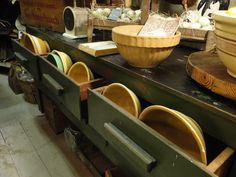 Yelloware Bowls