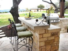 Love This!!!  Outdoor Kitchens and Grilling Spaces : Home Improvement : DIY Network