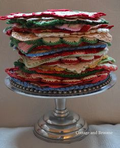 pile of pretty pot holders…...