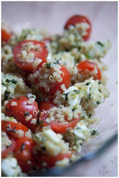Quinoa Recipes: Caprese Style