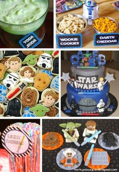 Lego Star Wars food ideas - cute!!