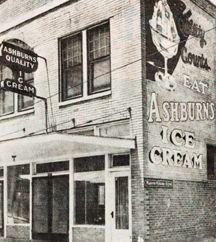Ashburn's Ice Cream was a Fort Worth Institution!