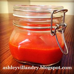 The Healthy Life: Homemade Buffalo Sauce!!  I love buffalo sauce but avoid it because of the sodium. This homemade version only has 17mg/3tbsp :)