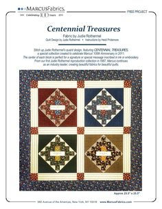 Centennial Treasures by Judie Rothermel