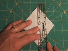 How to Piece Half Square Triangles