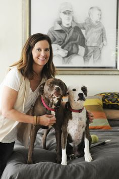 Heather & Jeff's Art (and Dog) Friendly Modern Eclectic House Tour