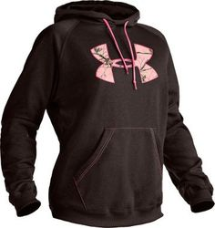 Cabela's: Under Armour® Women's Tackle Twill Hoodie pink realtree