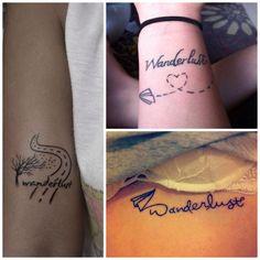 Wanderlust tattoo ✈️