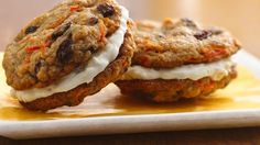 Carrot Cake Sandwich Cookies... sounds good to me.
