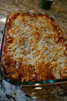 Chicken Parmesan Casserole  (making tonight with spaghetti)