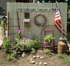 garden power, garden ideas, flower garden, fenc, flowers garden