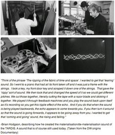 how the TARDIS sound was made