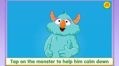 Breathe, Think, Do App < free app that helps teach children self regulation, deep breathing and motor planning. There are 5 different scenarios that include showing a monster getting frustrated with completing a skill.  The child has to tap, pop bubbles and more to help the monster calm down and think of a plan. kids learning, emotionsself regul, self regulation, idea, play therapi, school, free app, deep breath, counsel