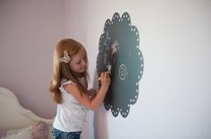 Chalk Decals for kiddos. Ella would love.
