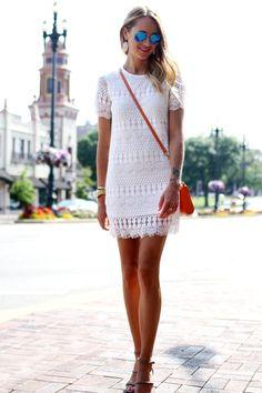 . little white dresses, lace dresses