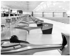 Super Sweet Mid-Century Style #Brunswick Bowling Alley