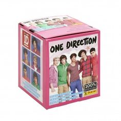 Official One Direction Sticker Collection 50-Pack Box from Panini - Panini America Store