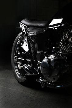 """""""Husz Bike #3"""" Yamaha SR 250"""