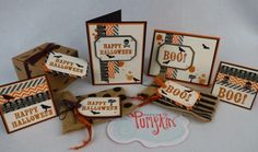 September 2014 Paper Pumpkin- Boo-tiful Bags