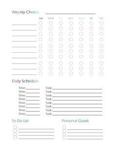 Kid Chore Sheet.pdf - Google Drive