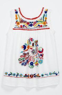 Peek 'Plume' Dress (Baby Girls) | Nordstrom #baby #boho